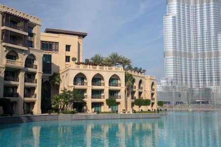 New Downtown Burj Khalifa, Dubai United Arab Emirates. Photo taken at 18th of January 2010 Stock Photo - 9501096