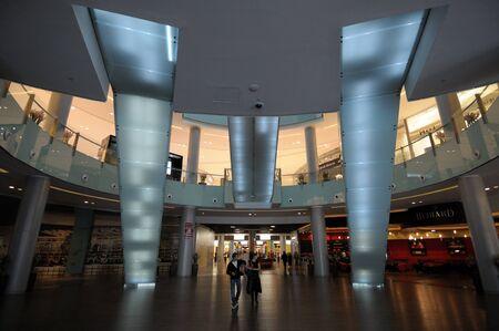 Interior of the Dubai Mall, Dubai United Arab Emirates. Photo taken at 18th of January 2010