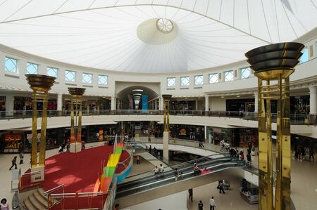 Deira City Center Mall in Dubai, United Arab Emirates. Photo taken at 29th of January 2010 Stock Photo - 9532013
