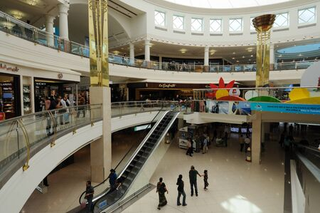 Deira City Center Mall in Dubai, United Arab Emirates. Photo taken at 29th of January 2010