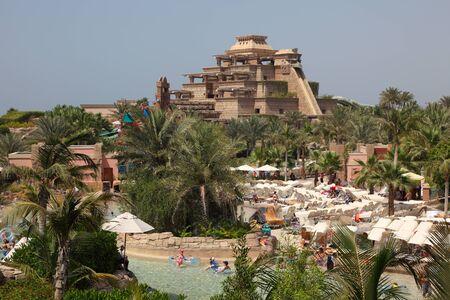 Amusement waterpark at the Atlantis Hotel in Dubai. Photo taken on 28 of Mai 2011