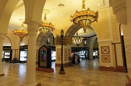 gold souk: Gold Souk inside of the Dubai Mall, Photo taken at 27th of Mai 2011 Editorial