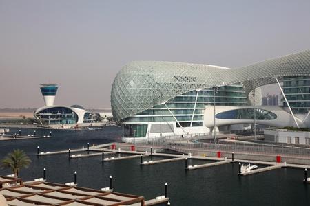 Yas Marina in Abu Dhabi, United Arab Emirates