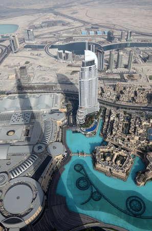 the emirates: Vista desde Burj Khalifa, Dubai Emiratos �rabes Unidos