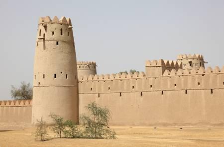 united arab emirate: Ancient fort of Al Ain, Emirate Abu Dhabi, United Arab Emirates