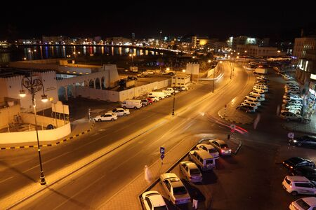 The old town of Muscat - Muttrah, Oman. Photo taken on 10th of June 2011