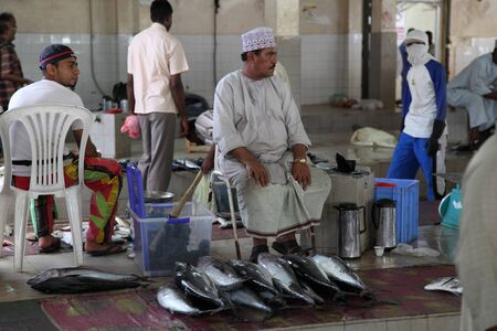 muttrah: Fish market in Muttrah, Muscat Oman. Photo taken at 9th of June 2011