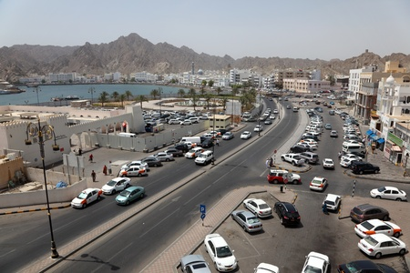 The old town of Muscat - Mutrah, Oman. Photo taken on 10th of June 2011
