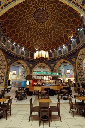 Starbucks Cafe inside of the Ibn Battuta Mall in Dubai, United Arab Emirates. Photo taken at 29th of Mai 2011