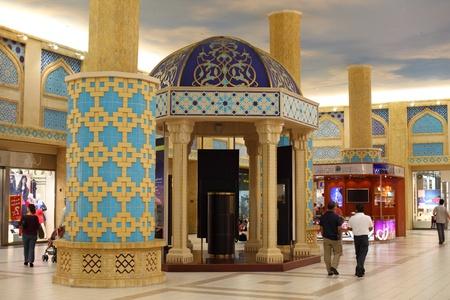 Interior of the Ibn Battuta Mall in Dubai, United Arab Emirates. Photo taken at 29th of Mai 2011