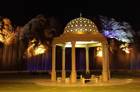 muttrah: Pavilion in Muscat, Sultanate of Oman. Photo taken at 6th of June 2011