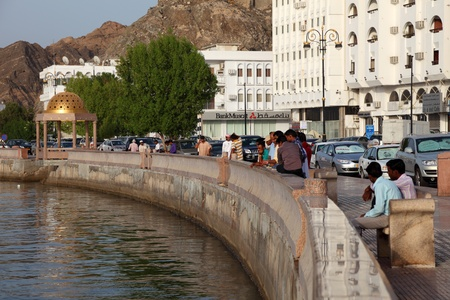 muttrah: Muttrah Corniche, Muscat, Sultanate of Oman. Photo taken at 9th of June 2011
