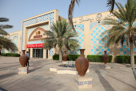 Entrance to the Ibn Battuta Mall in Dubai, United Arab Emirates. Photo taken at 6th of June 2011