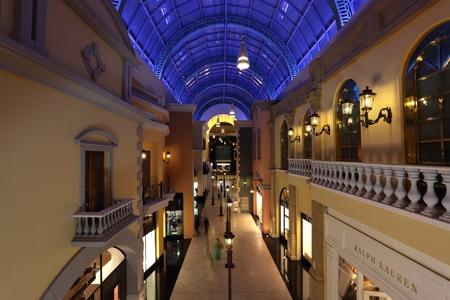 Inside of Mall of the Emirates, Dubai. Photo taken on 04 June 2011