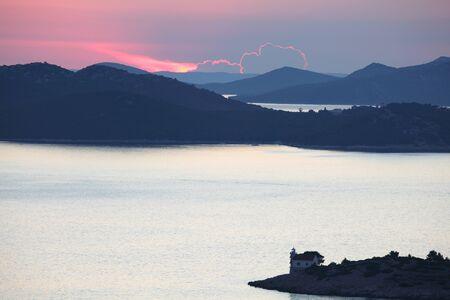 kornati: Isole Kornati al tramonto, Croazia