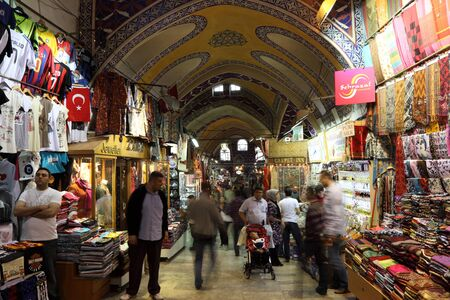 The famous Istanbul Grand Bazaar, Turkey. Photo taken at 20th of Mai 2011