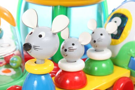 Colorful mouse toy Stock Photo - 10338977