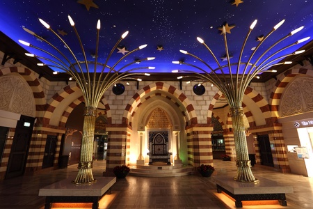 Arabian Gold Souk inside of the Dubai Mall. Photo taken at 27th of Mai 2011 Stock Photo - 10403997