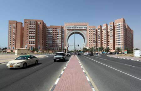 Gate Building in Dubai, United Arab Emirates. Photo taken at 29th of Mai 2011