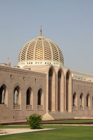 Grand Mosque in Muscat, Sultanate of Oman photo