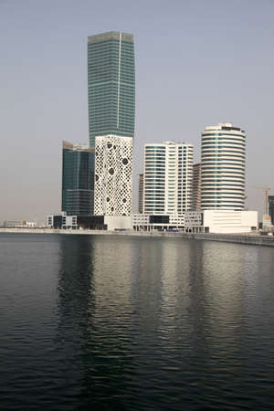 Dubai Business Bay, United Arab Emirates Stock Photo - 10558729