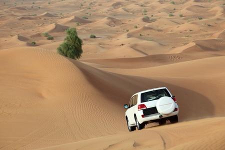 Dune bashing in Dubai, United Arab Emirates