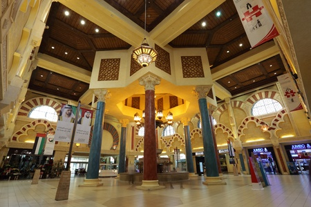 The Andalusian court of Ibn Battuta Mall in Dubai, United Arab Emirates. Photo taken at 29th of Mai 2011