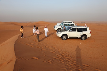 Dune bashing in Dubai, United Arab Emirates. Photo taken on 6th of June 2011