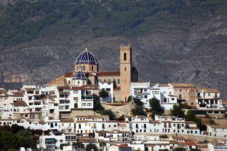 altea: Mediterranean resort Altea, Spain