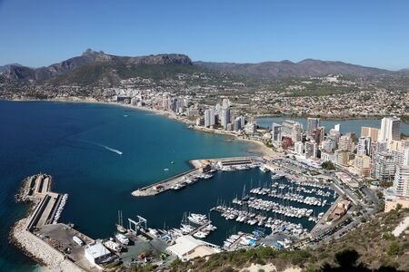 Mediterranean Resort Calpe, Costa-Blanca Spain photo