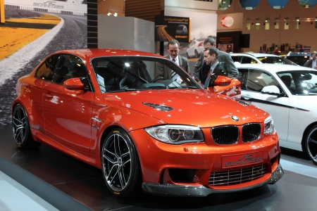 ESSEN - NOV 29: BMW 1 Series M Coupe from AC Schnitzer shown at the Essen Motor Show in Essen, Germany, on November 29, 2011