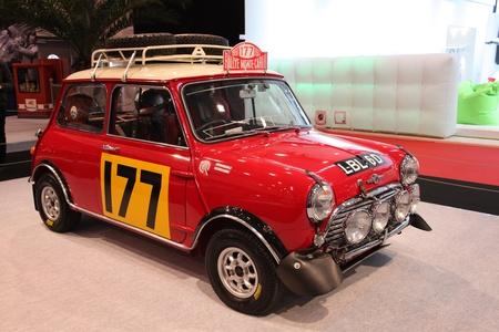 cooper: ESSEN - NOV 29: Mini Cooper S - Winner Car of the Rally Monte Carlo 1967, shown at the Essen Motor Show in Essen, Germany, on November 29, 2011 Editorial