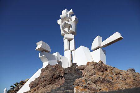 lanzarote: Monument al Campesino, Lanzarote, Canary Islands, Spain