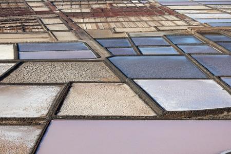 saltmine: Salinas de Janubio, Canary Island Lanzarote, Spain