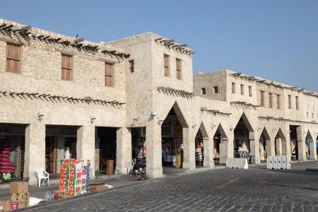 souq: Traditional Arabian market Souq Waqif in Doha, Qatar. Photo taken at 7th of January 2012
