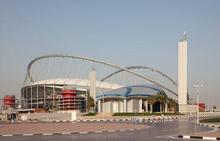 Khalifa International Stadium in Doha, Qatar. Photo taken at 7th of January 2012 Stock Photo - 12179840