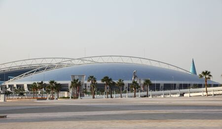 The Aspire Dome and Academy for Sports in Doha, Qatar. Photo taken at 7th of January 2012 Stock Photo - 12179842