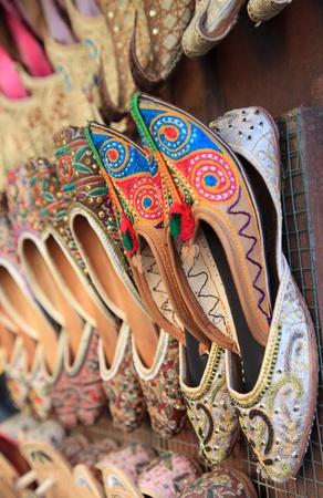 suq: Traditional Arabic shoes for sale in Dubai