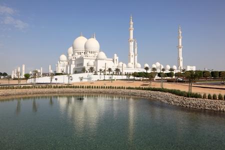 Sheikh Zayed Mosque in Abu Dhabi, United Arab Emirates photo