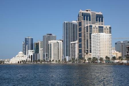 sharjah: Sharjah City skyline, United Arab Emirates. Photo taken at 19th of January 2012