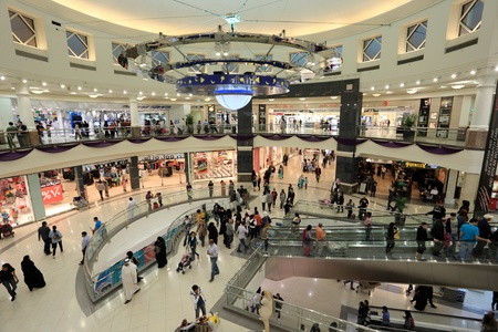 Deira City Center Shopping Mall in Dubai, United Arab Emirates. Photo taken at 21st January 2012 Stock Photo - 12386045