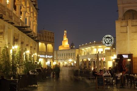 souq: Souq Waqif at night, Doha Qatar. Photo taken at 7th of January 2012