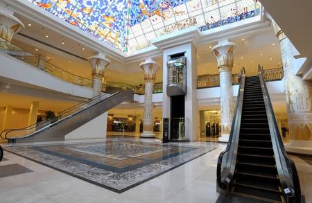 Egyptian themed Wafi mall in Dubai, United Arab Emirates. Photo taken at 15th of January 2012