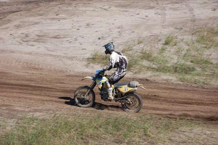 fourwheeldrive: Enduro motocross competition