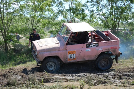 fourwheeldrive: UAS jeep at offroad rally competition