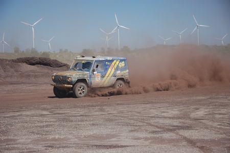 fourwheeldrive: Mercedes Benz G Class at offroad rally competition