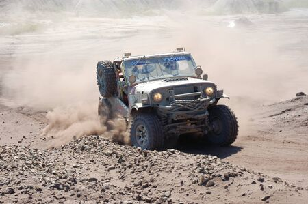 fourwheeldrive: Jeep Wrangler at offroad rally competition