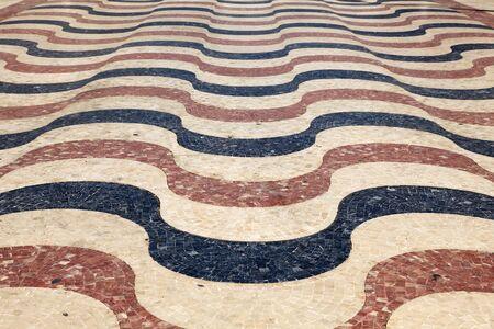 Wave shaped promenade in Alicante, Catalonia Spain Stock Photo - 13510600