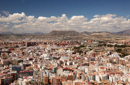 Cityscape of Alicante, Catalonia Spain photo