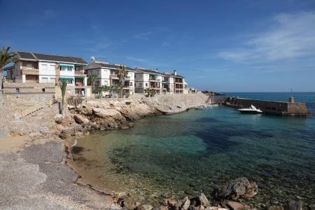 Mediterranean resort Isla Plana, Region Murcia, Spain Stock Photo - 13749203